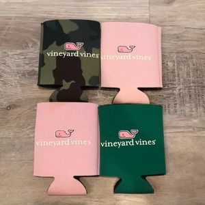 Vineyard Vines Coozies (Lot of 4)